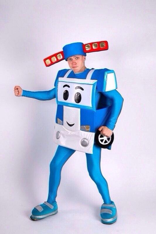 Как сделать костюм поли робокар