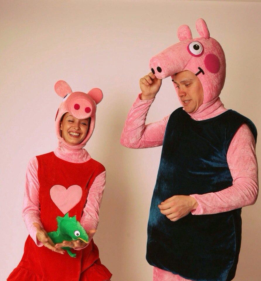 Карнавальный костюм свинка пеппа своими руками 51